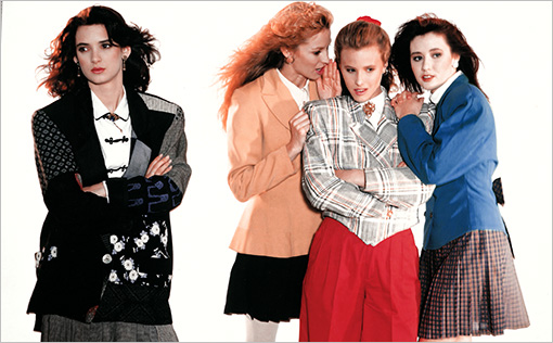 Heathers (1988) Winona Ryder , Lisanne Falk, Kim Walker, and Shannen Doherty