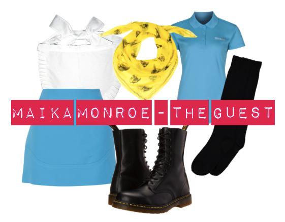 dress like maika monroe in the guest
