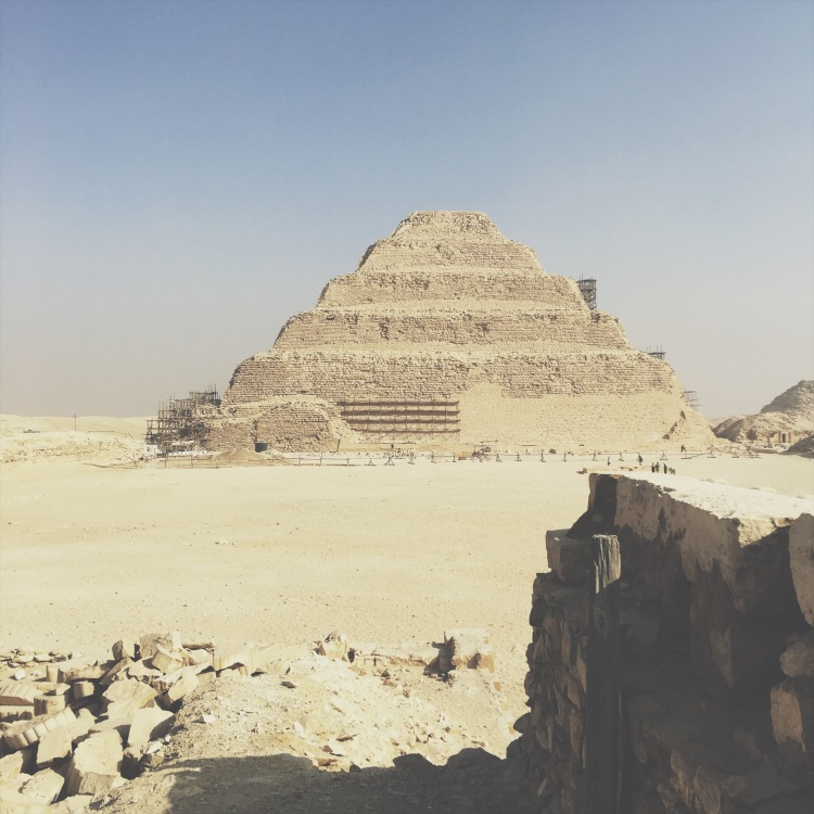 step pyramid sakkara